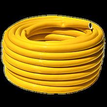 Шланг поливочный 3мм рулон 25 м  Янтарь желтый