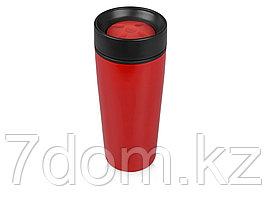 Кружка с термоизоляцией на 450 мл, красный