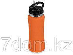 Бутылка спортивная Коста-Рика 600мл, оранжевый