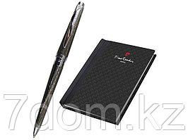 Набор: ручка шариковая, записная книжка. Pierre Cardin