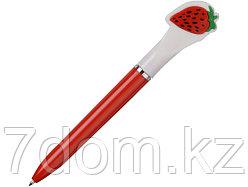 Ручка шариковая  Клубника, красный