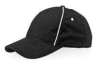Бейсболка Break 6-ти панельная, черный/белый
