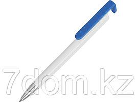 Ручка-подставка Кипер, белый/голубой