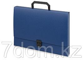 Папка-портфель A4 40 мм с замком 0.70 мм, синий