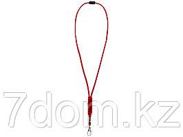 Шнурок Landa с регулируемой вставкой, красный