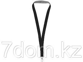 Двухцветный шнурок Aru с застежкой на липучке, черный/серый