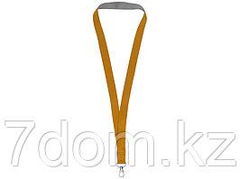 Двухцветный шнурок Aru с застежкой на липучке, оранжевый/серый