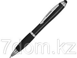 Ручка-стилус шариковая Nash со стилусом, черный, черные чернила