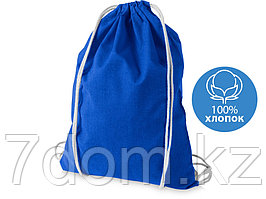 Рюкзак хлопковый Oregon, ярко-синий