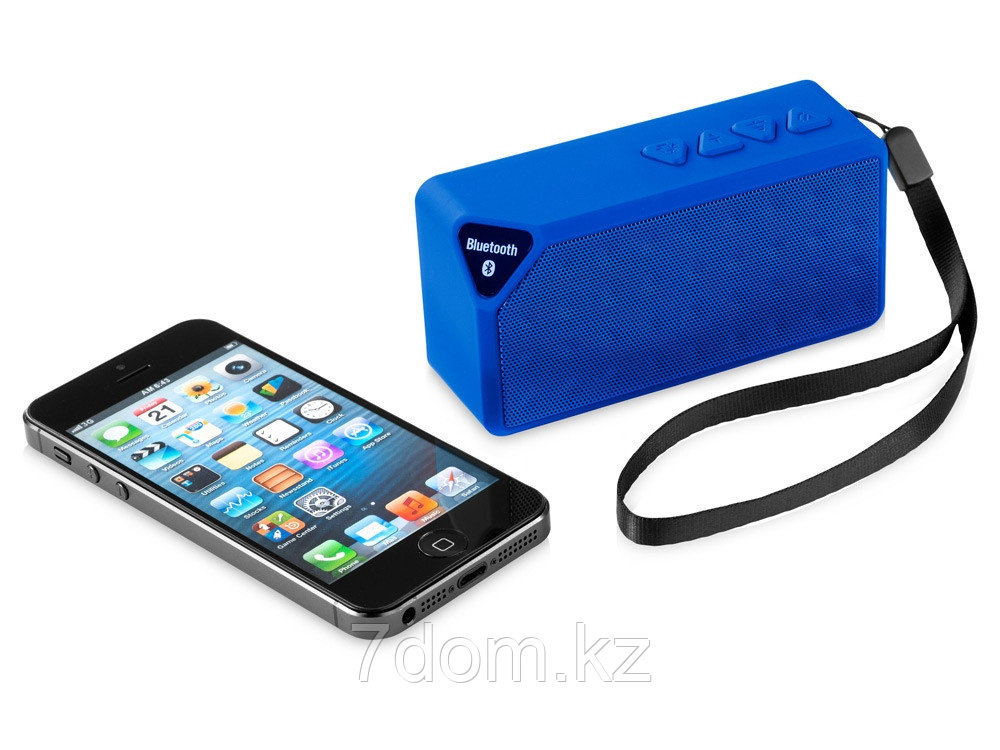 Колонка Jabba Bluetooth®, синий - фото 3