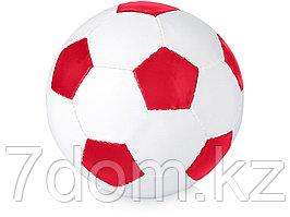 Футбольный мяч Curve, красный/белый