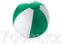 Пляжный мяч Palma, зеленый/белый