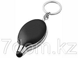Фонарик-стилус Presto, черный/серебристый