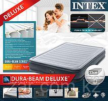 Надувная кровать Intex 67770 152х203х33см встр.нас. 220В
