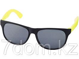 Очки солнцезащитные Retro, неоново-желтый