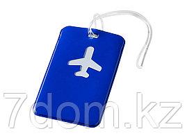 Бирка для багажа Voyage, синий