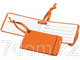 Багажная бирка Tripz, оранжевый