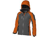 Куртка Ozark женская, серый/оранжевый