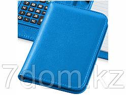 Блокнот А6 Smarti с калькулятором, светло-синий