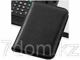 Блокнот А6 Smarti с калькулятором, черный