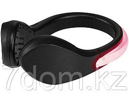 Светодиодный клип для обуви Usain, черный/красный