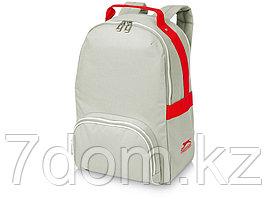 Рюкзак York, серый/красный