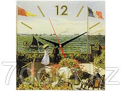 Часы настенные Моне. Сад в Сент-Андрес, зеленый
