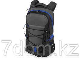 Рюкзак Milton для ноутбука 15,4, черный/темно-серый/ярко-синий