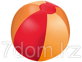 Мяч надувной пляжный Trias, красный