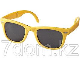 Очки солнцезащитные Sun Ray складные, желтый