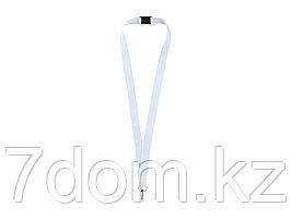 Ремешок на шею с карабином Бибионе, белый