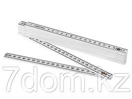 Складная линейка длиной 2м, белый