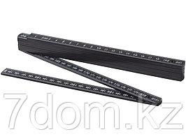 Складная линейка длиной 2 м, черный