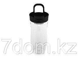 Бутылка спортивная Nutri 700мл, черный/прозрачный