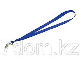 Шнурок с поворотным зажимом Igor, ярко-синий