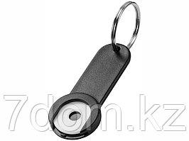 Брелок-держатель для монет Shoppy, черный