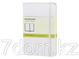 Записная книжка Moleskine Classic (нелинованный) в твердой обложке, Pocket (9x14см), белый