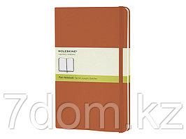 Записная книжка Moleskine Classic (нелинованный) в твердой обложке, Large (13х21см),оранжевый коралл