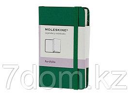 Папка Moleskine Portfolio (с кармашками), ХSmall (6,5x10,5см), зеленый