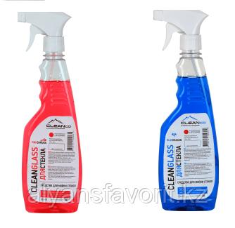 CLEAN GLASS -средство для мытья окон и зеркал.500 мл. РК