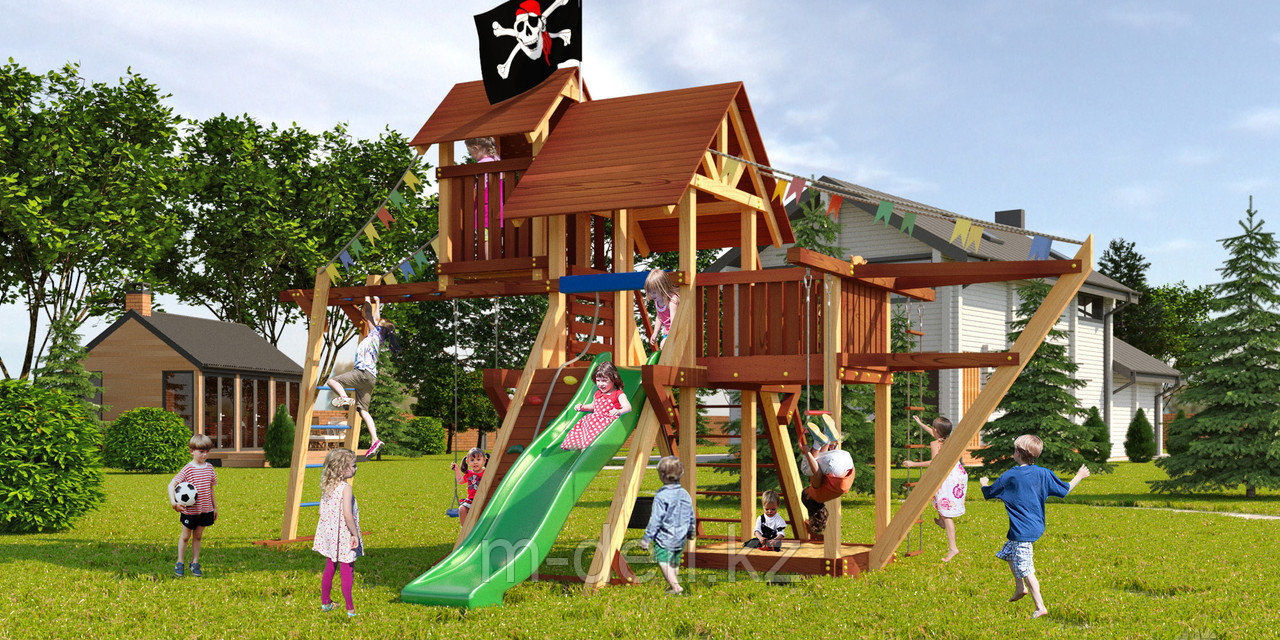 Детская площадка Савушка Lux 7
