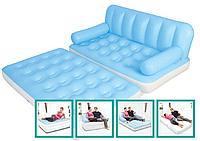Надувной диван-трансформер Bestway 75039 152х188х64см