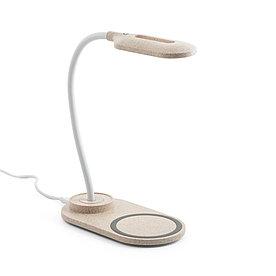 Настольная лампа с беспроводной зарядкой, OZZEL