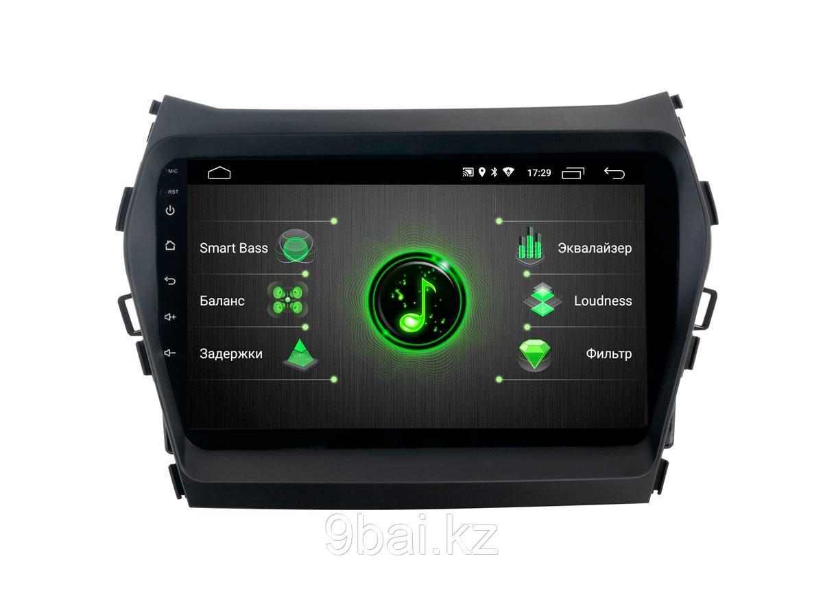"ШГУ Hyundai Santa Fe 13-18 (INCAR DTA-2409) Android 10/1024*600, BT, IPS, wi-fi, 9"", DSP"