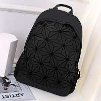 Городской рюкзак геометрический 0212 черный