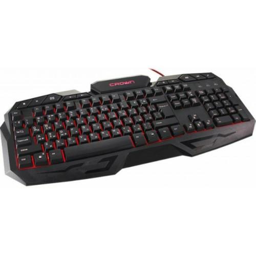 Клавиатура компьютерная игровая CROWN CMGK-100