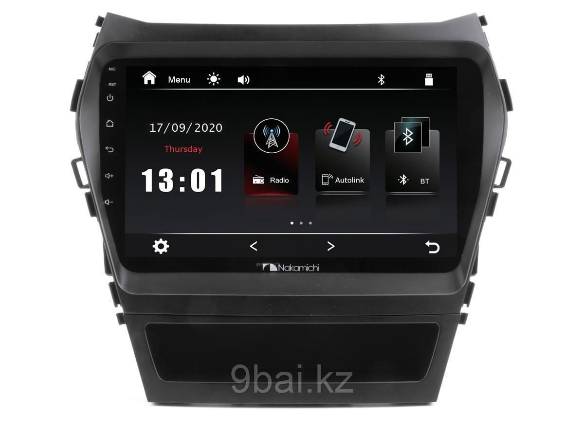 ШГУ Hyundai Santa Fe 13-18 (Nakamichi NTA-2409) 4x50Вт,RDS,MP5,USB,BT,2.5D экран,мультиподсветка,MirrorLink, 9