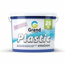 Краска водоэмульсионная  Plastic emulsion эконом-класс 3кг