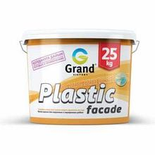 Краска водоэмульсионная  фасадная для наружных работ Plastic facade 7кг