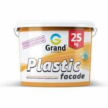 Краска водоэмульсионная  фасадная для наружных работ Plastic facade 15кг